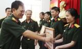 Phòng Chính trị (Bộ Chỉ huy Quân sự tỉnh): Lá cờ đầu trong phong trào Thi đua quyết thắng