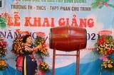Trường tiểu học, THCS, THPT Phan Chu Trinh khai giảng năm học mới