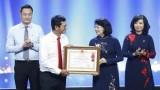 越南电视台荣获一等劳动勋章