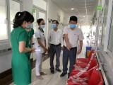 Kiểm tra công tác triển khai bệnh viện an toàn phòng, chống Covid-19 và viêm đường hô hấp