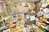 Cô gái Nhật Bản với bộ sưu tập