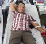 Một cán bộ tư pháp 38 lần hiến máu tình nguyện