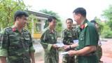 TP.Thuận An thăm động viên cán bộ sĩ quan, hạ sĩ quan, dự bị động viên