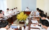 Đoàn công tác Tỉnh ủy Bình Dương làm việc với Ban Thường vụ Thị ủy Bến Cát