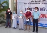 Bệnh nhân 87 tuổi mắc Covid-19 ở Quảng Nam được công bố khỏi bệnh