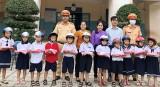 Công an TX.Tân Uyên: Tuyên truyền pháp luật đến học sinh trường Tiểu học Bạch Đằng