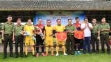 Đoàn Thanh niên Công an tỉnh tổ chức giao lưu bóng đá chào mừng đại hội thành công