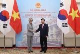 Deputy PM, FM Minh holds talks with RoK FM