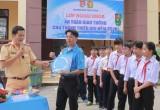 """Huyện đoàn Bắc Tân Uyên: Tổ chức chương trình ngoại khóa """"An toàn giao thông"""""""