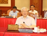 Politburo holds working session with Central Public Security Party Committee