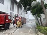 Thực tập phương án chữa cháy và cứu nạn cứu hộ tại Công ty Công nghiệp Phúc Cần