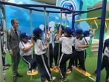 Trường Tiểu học Phú Hòa 3: Tiếp nhận sân chơi vận động, góc dinh dưỡng Cô gái Hà Lan