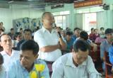 Đoàn đại biểu Quốc hội tỉnh tiếp xúc cử tri TP. Thuận An