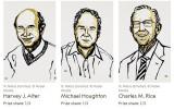 Ba nhà khoa học phát hiện virus viêm gan C đoạt giải Nobel Y học 2020