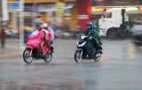 Vùng áp thấp đi vào đất liền khu vực Nam Trung Bộ gây mưa lớn