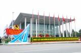 Trang hoàng phố phường chào mừng đại hội