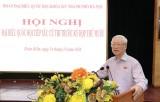 Tổng Bí thư: Phát huy nền tảng từ cử tri, nhân dân để xây dựng Thủ đô