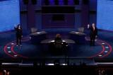 Bầu cử Mỹ: Nóng cuộc tranh luận giữa hai liên danh tranh cử