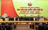 Danh sách Ban chấp hành Đảng bộ tỉnh Bình Dương khóa XI, nhiệm kỳ 2020-2025 (sắp xếp theo thứ tự A,B,C...)