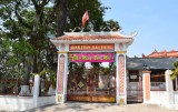 The preserved past – the today's backing position of Dau Tieng Temple