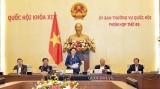 越南国会常委会第49次会议闭幕