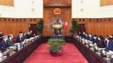 越南政府总理阮春福会见美国国际发展金融公司首席执行官