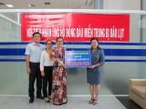 平阳省越南祖国阵线委员会接收向中部灾区捐助的近100亿越盾