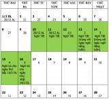 Nghỉ lễ năm 2021: Đề xuất nghỉ Tết Tân Sửu 7 ngày, Quốc khánh 4 ngày