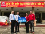Công ty Bảo Việt Nhân thọ Bình Dương: Ủng hộ đồng bào miền Trung khắc phục hậu quả thiên tai