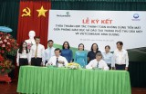 Vietcombank Bình Dương: Ký kết thỏa thuận triển khai thanh toán không dùng tiền mặt