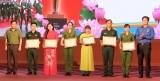 Sinh hoạt chính trị chào mừng thành công Đại hội tỉnh Đảng bộ lần thứ XI