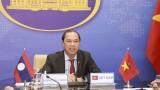 越南与老挝外交部第五次政治磋商以视频方式举行
