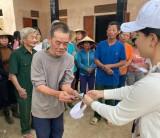 Công ty TNHH MTV Minh Thư: Vận động gần 500 triệu đồng hỗ trợ đồng bào miền Trung bị thiên tai