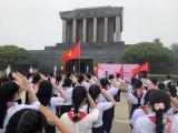 Thanh thiếu nhi tỉnh Bình Dương báo công dâng Bác