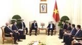 阮春福总理会见俄罗斯驻越大使