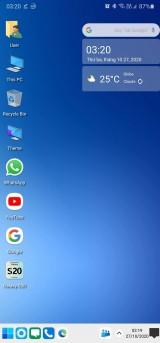 Trải nghiệm giao diện Windows 10 ngay trên smartphone Android