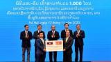 越南向老挝灾民援助1000吨大米