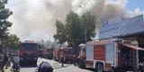 Liên tiếp xảy ra cháy tại 2 cơ sở kinh doanh phế liệu trong khu dân cư