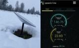 Starlink đạt tốc độ hơn 150 Mb/giây dù thời tiết khắc nghiệt