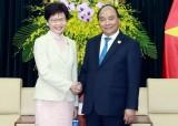 经贸合作是越南各地与中国香港关系中的最大亮点
