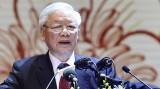 越共中央总书记、国家主席阮富仲出席越南民族统一阵线成立90周年庆典