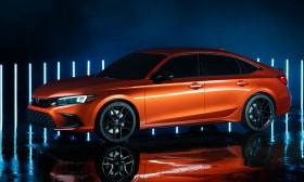 Nguyên mẫu Honda Civic 2022 ra mắt