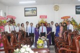 Lãnh đạo tỉnh Bình Dương thăm, chúc mừng các trường nhân Ngày Nhà giáo Việt Nam
