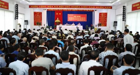 Chủ tịch HĐND tỉnh Bình Dương đối thoại với nhân dân TP.Dĩ An