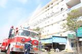 TX.Bến Cát: Diễn tập phương án chữa cháy và cứu nạn cứu hộ tại nhà ở xã hội Becamex Thới Hòa