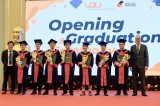 Trường Đại học Việt Đức trao bằng tốt nghiệp cho 183 cử nhân, thạc sỹ