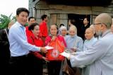 省红十字会:发挥为社区的精神