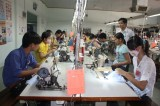 Vocational training for rural laborers in association with market's demand
