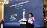 5 doanh nghiệp Việt tham dự Giải thưởng WEPs châu Á-Thái Bình Dương