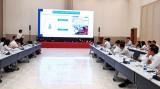 平阳省建设厅与城市发展局工作团举行会议